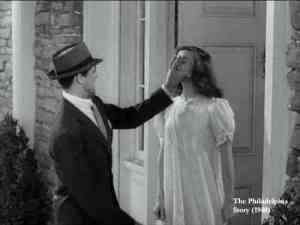Cary Grant and Katharine Hepburn in The Philadelphia Story.